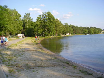 Jezioro Białe - okolice centrum